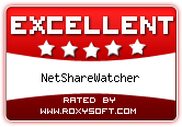 NetShareWatcher Awards - roxysoft.com